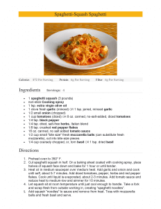 American Heart Month Recipe-George Zenner III, MD